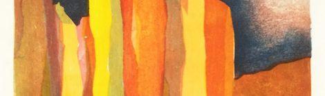 Splitter Mokuhanga Woodcut