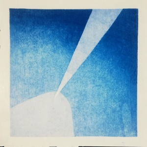 Faro 1 two color reduction print