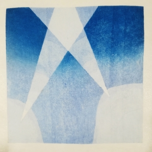 Faro 2 two color reduction print